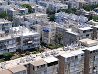 דירות נדלן תל אביב רב קומות גגות בניינים / צלם: תמר מצפי